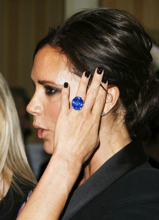Whoa: Victoria Beckham Has Upgraded Her Engagement Ring 13 Times   WhoWhatWear