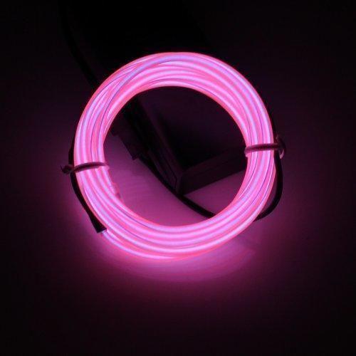 Oferta: 8.99€ Dto: -47%. Comprar Ofertas de Lerway Colorido 5M Neno Electroluminiscente Luz,Mangueras Flexibles Alambre de EL LED Luces con Controlador Box, para Hogar C barato. ¡Mira las ofertas!