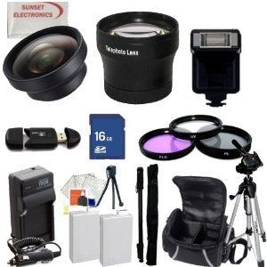 Huge Ultimate Accessory Kit for the Canon T3i & T2i Digital Slr Camera.the Kit Includes Lenses, Filters, 8gb Sd Card, 2 Extended Life Batteries , Carrying Case, Tripod, Flash Plus Much More!! These Lenses and Filters Will Attach to Any of the Following Canon Lenses 18-55mm, 75-300mm, 50mm 1.4 , 55-200mm. by Digital. $87.99. This Kit Includes:  1- 8GB SD MEMORY CARD  1- USB SD/HC Memory Card Reader 2- 2 Rechargeable Lithium Ion Replacement Extended Life Batteries...