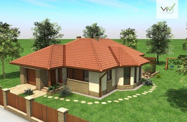 Egyszintes családi ház 155 m2