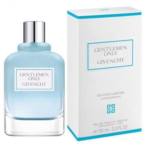 Gentlemen Only Fraiche la nueva fragancia masculina de Givenchy más fresca y aireada que sus predecesoras. Edición limitada 2017