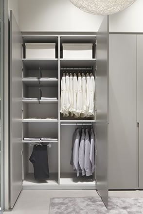 Interiors Wardrobe with hinged doors