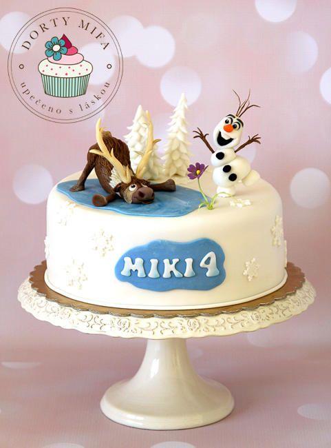 Frozen Cake - Cake by Michaela Fajmanova