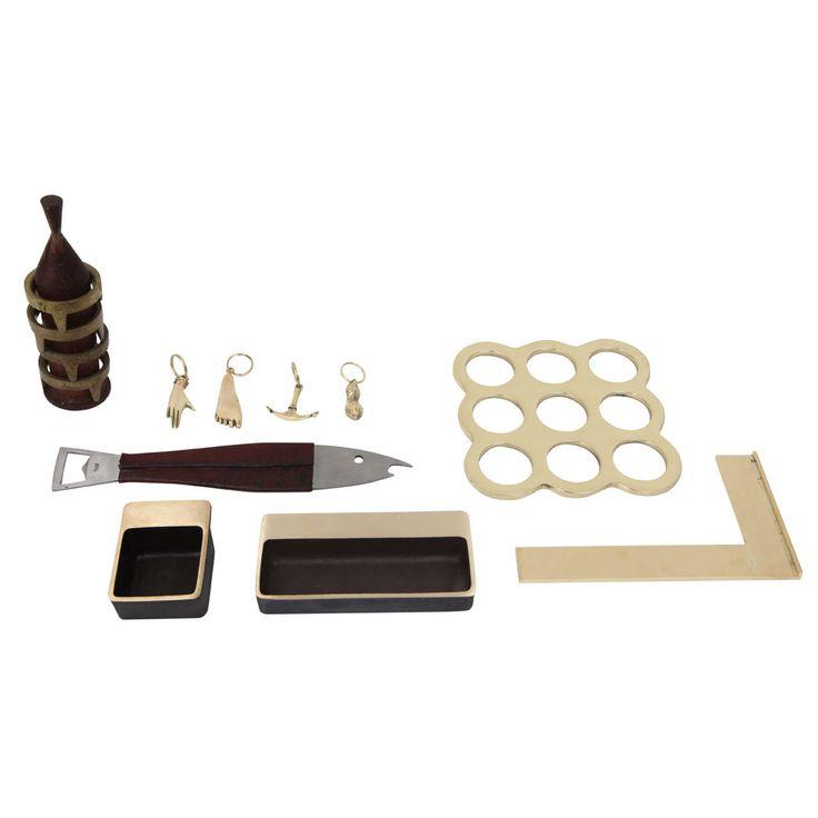 Collection of carl aubock accessories from a unique for Unique decorative accessories