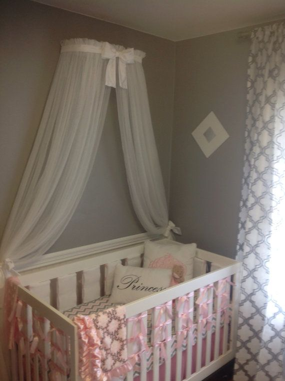 Princess Bed canopy CrOwN with curtains SaLe by SoZoeyBoutique