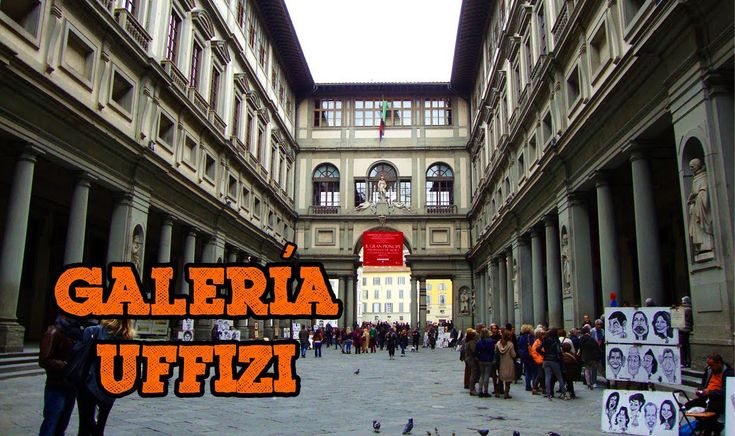 Galleria degli Uffizi de #Florencia #Italia via videoblog de #Viajology