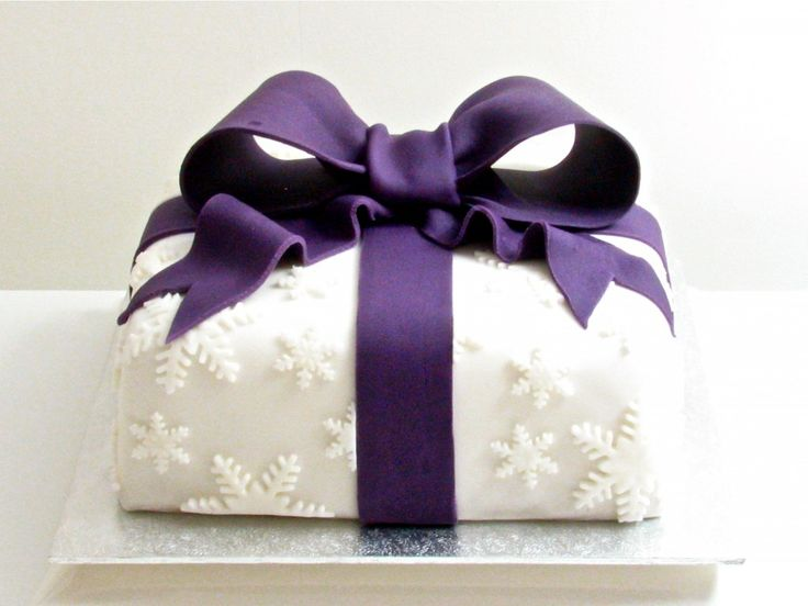 Christmas Present Cake Tutorial