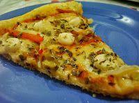 Cantinho Vegetariano: Pizza de Vegarella com Palmito e Azeitonas (vegana...