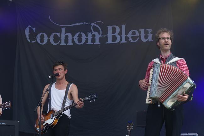 Cochon Bleu
