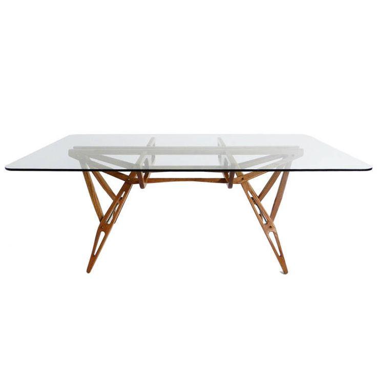 Rare Carlo Mollino Table, Model Reale