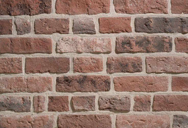 Plaquette brique parement mural Granulit 50 G54 panaché rouge De Ryck - 210x60x15 mm 1 m² - DERYCK - Décoration extérieure - Distributeur de matériaux de construction - Point.P