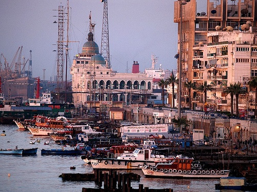 Santa Claus Travel Egypt  <>  Contact us: reservation@santaclaustravel.com    Port Said is a city that lies in north east Egypt extending about 30 km along the coast of the Mediterranean Sea, north of the Suez Canal, with an approximate population of 603,787 (2010).  [1] The city was established in 1859 during the building of the Suez Canal.