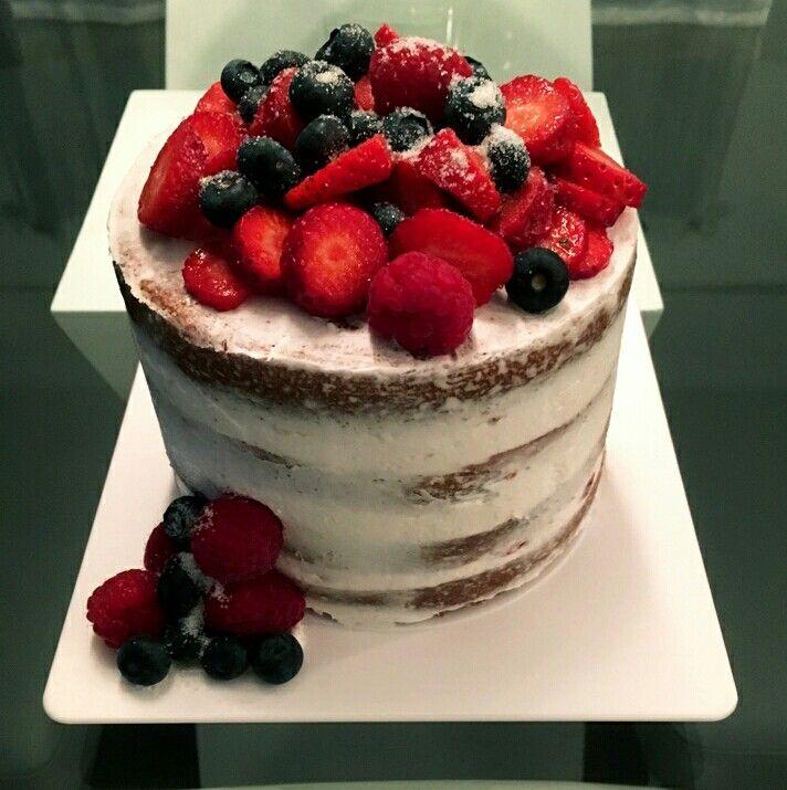 Naked Cake : Fruit des champs
