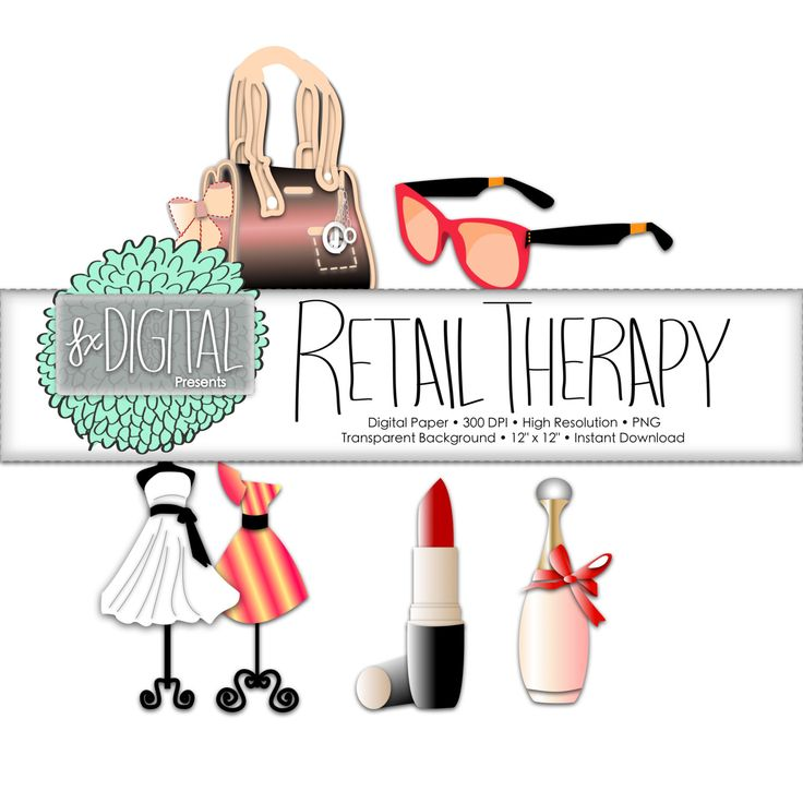 Retail Clipart - Fashion Clipart, Boutique Clipart, Shopping Clipart, Lipstick Clipart, Mannequin Clipart, Clipart Sunglasses, Dress Clipart by CraftSparksDesign on Etsy https://www.etsy.com/uk/listing/220264431/retail-clipart-fashion-clipart-boutique