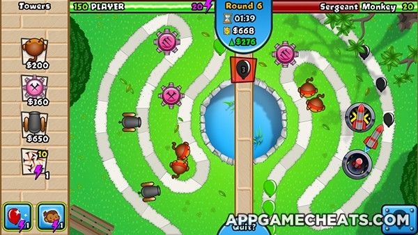 Bloons TD Battles Cheats, Tips, & Hack for Medallions & Energy Potions  #BloonsTDBattles #Puzzle #Strategy http://appgamecheats.com/bloons-td-battles-cheats-tips-hack-medallions-energy-potions/