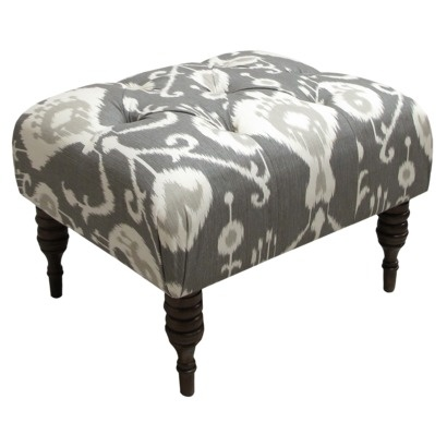 Java ikat tufted ottoman target would for Where to put ottoman