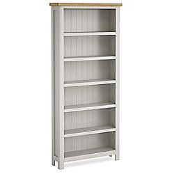 Farrow Painted Bookcase - Large Bookcase - Grey Painted