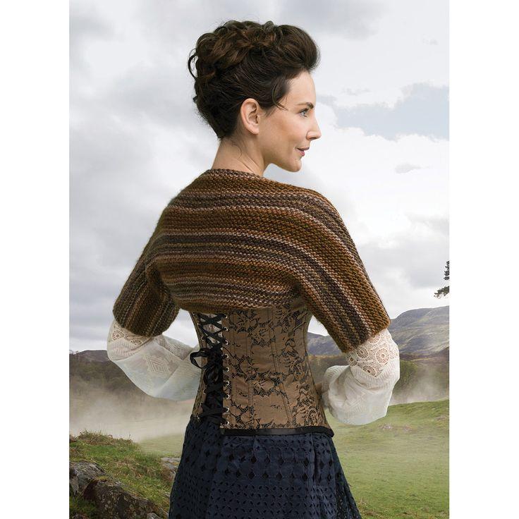 Outlander Yarn Kit Claire's Captivationg Castle Leoch Shrug