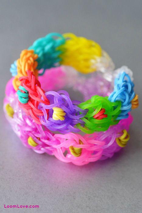 how to make cool rainbow loom bracelets