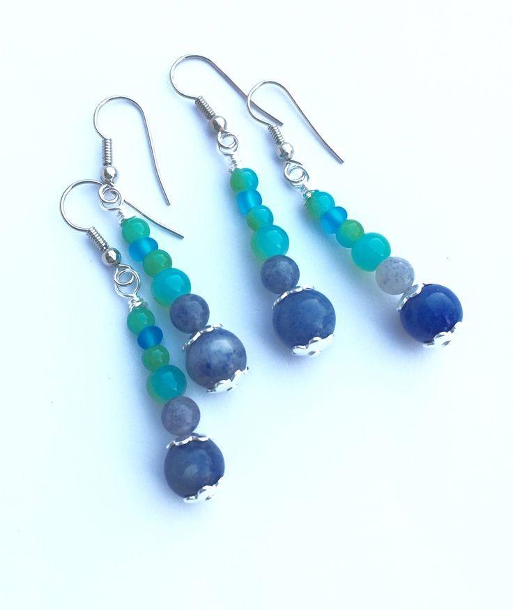 New in our shop! Blue Dangle Earrings, Aventurine Beach Earrings https://www.etsy.com/listing/549789805/blue-dangle-earrings-aventurine-beach?utm_campaign=crowdfire&utm_content=crowdfire&utm_medium=social&utm_source=pinterest