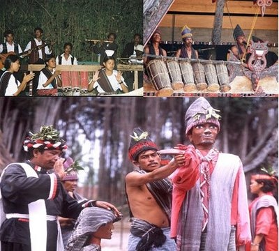 Sigale-Gale traditional dance from North Sumatera, Indonesian