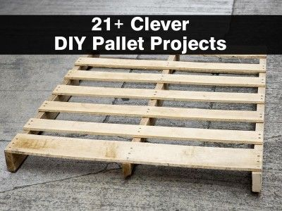 21+ Clever DIY Pallet Projects