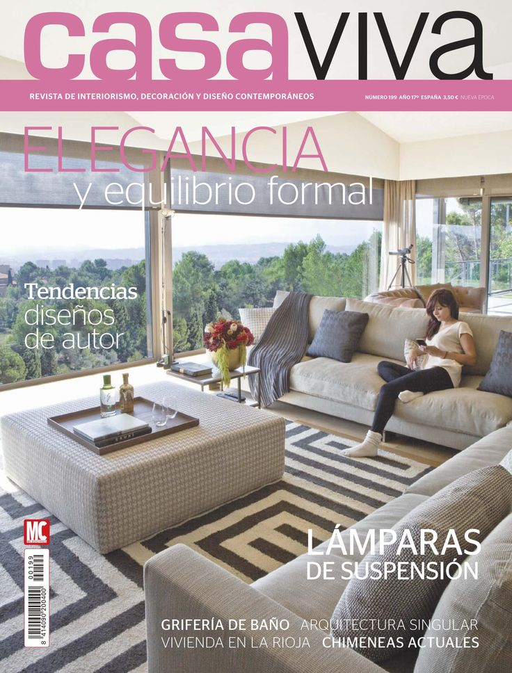 Revista casa viva 17 interiorismo decoraci n y dise o for Revista decoracion casa