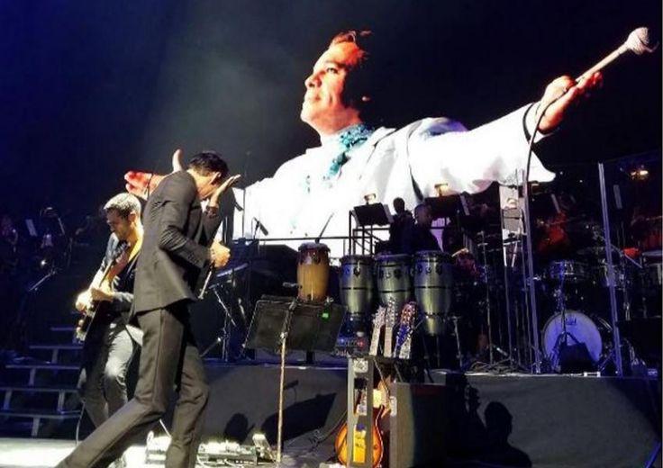 Marc Anthony llora la muerte de Juan Gabriel en su concierto en Radio City Music…