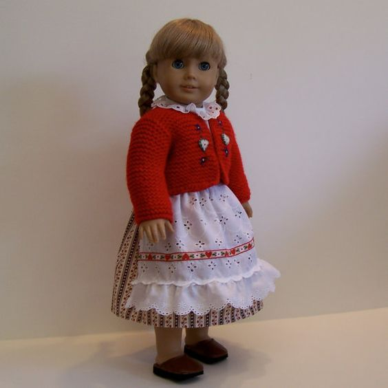 German Folk Costume for American Girl and by YouBeautifulDoll, $26.00