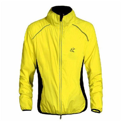 Cortaviento  Yellow New Cycling Clothing Bike Bicycle Ultra-thin Windbreaker Raincoat S-3XL