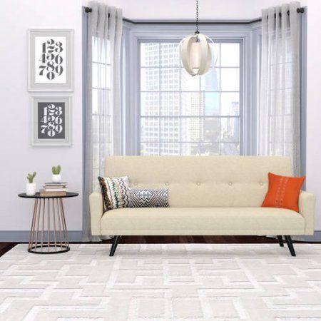 Melbourne Click Clack Futon Sofa Bed, Multiple Colors, Beige