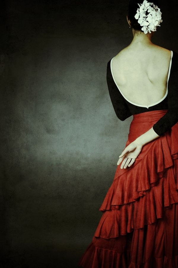 Bailaora by Josephine Cardin, via Behance