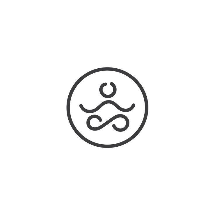 #logo #logotype #circle #web #yoga #people #creative #app #sign #mark #health #body #meditation #relax #mind #body #head #brain #intelligent #logoexcellent #minimal #clean #brand #branding #vector #art #icon #logoinspire #logoinspiration
