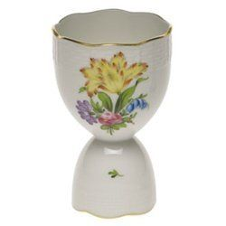 Herend Printemps Double Egg Cup by Herend. $120.00. Herend China Printemps Double Egg Cup Trimmed in 24k gold 4 inches high Printemps Pattern