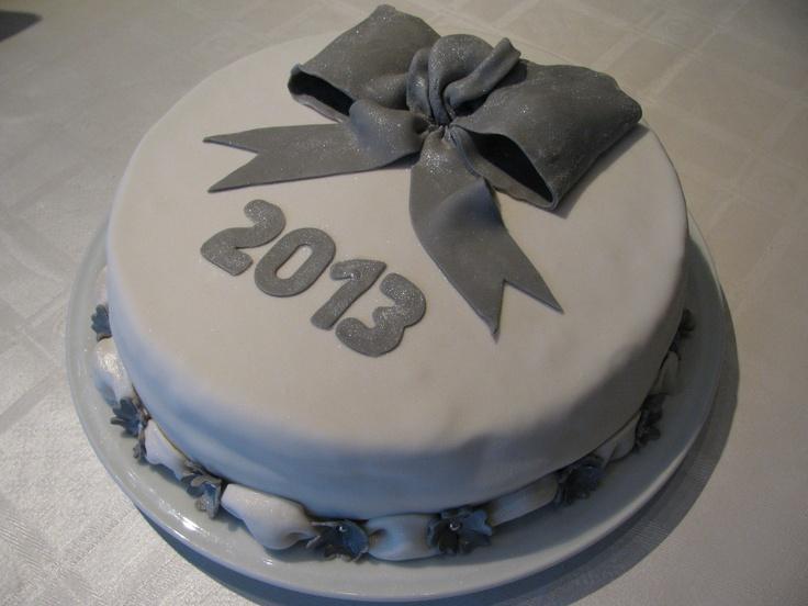 Nieuwjaarstaart - Met Amaretto Botercreme