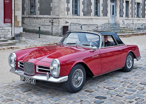 Beautiful cars, I always wanted to own a Facel Vega.