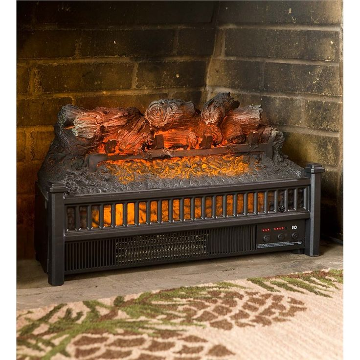 Electric Log Heater Fireplace Insert Electric Fireplaces Stoves Cool House Pinterest