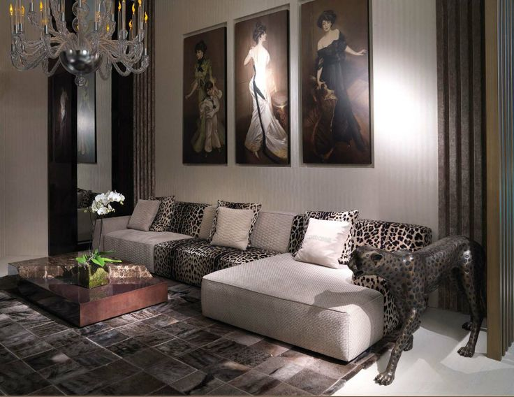luxury furniture 2014- Roberto Cavalli Home