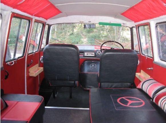 1958 Mercedes Benz 319 Fensterbus