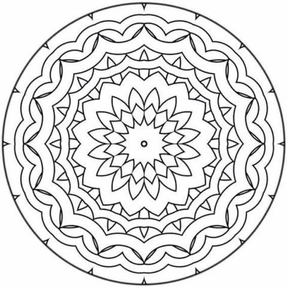 80 best MANDALA images on Pinterest | Mandalas, Adult coloring and ...