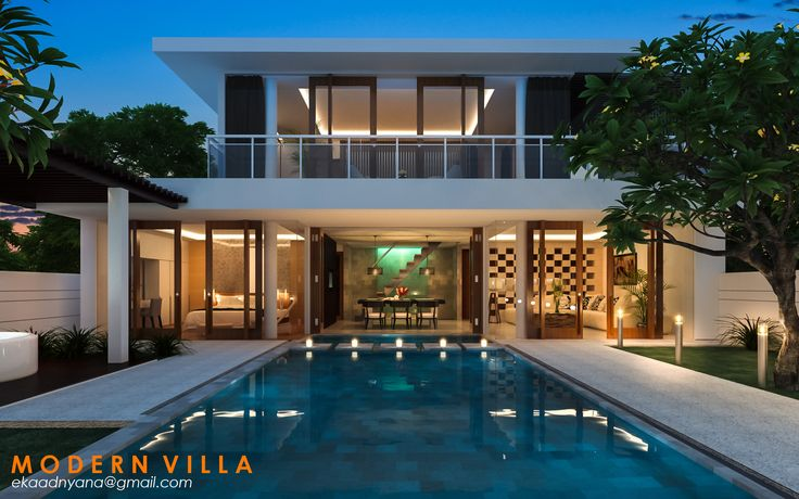 Modern Bali Villa Modeling & Visualisation by me Soft : 3ds Max & Vray + Adobe Lightroom