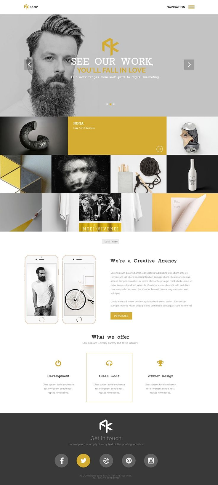 creative themes design for professional trendy websites homepage design - Best Home Page Design