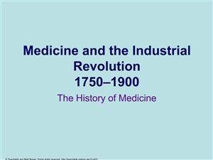 Les progrès de la médecine jouent un rôle important : vaccination antivariolique de Edward Jenner en 1796, découverte de la morphine en 1806, découverte du bacille de la tuberculose par Robert Koch en 1882, vaccin contre la rage de Louis Pasteur en 1885 etc. Autrement dit, il s'agit du recul des « trois Parques surmortelles » selon l'expression d'Alfred Sauvy
