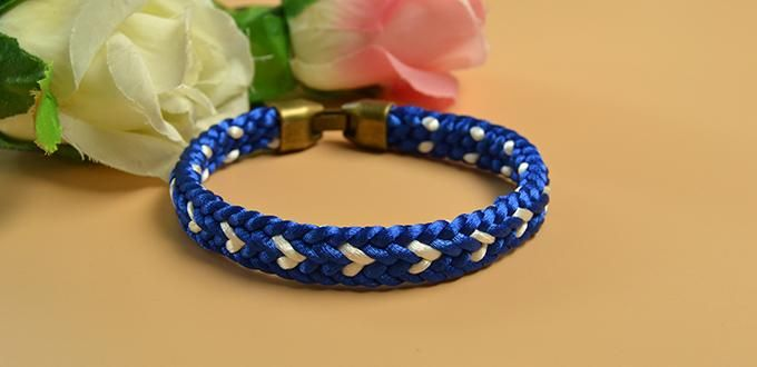 Make this Kumihimo Braided Friendship Bracelet for you and your friends as you…