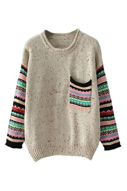 Pocketed Striped Jumper 32.50