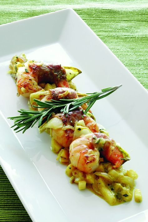 """Het lekkerste recept voor """"Scampi curry"""" vind je bij njam! Ontdek nu meer dan duizenden smakelijke njam!-recepten voor alledaags kookplezier!"""