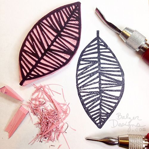 BalzerLeafStamp-wm --- Balzer Designs: Leaf Stamp Inspired by #28Patterns http://balzerdesigns.typepad.com/balzer_designs/2015/03/leaf-stamp-inspired-by-28patterns.html