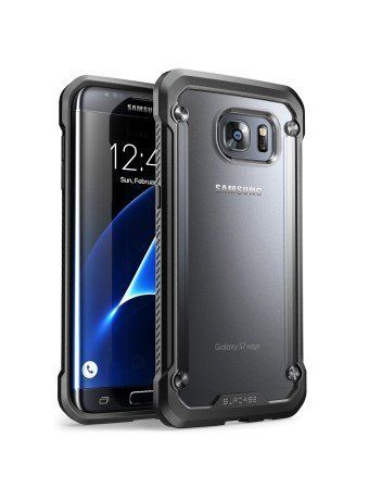 Galaxy S8 Plus Case SUPCASE Unicorn Beetle Series Premium Hybrid Protective Frost Clear Case for Samsung Galaxy S8 Plus 2017 Release Retail Package (Frost/Black)