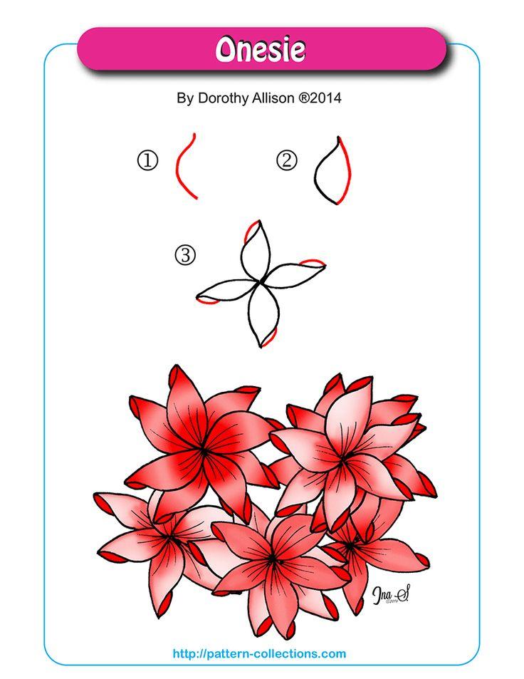 Onesie pattern by Dorothy Allison