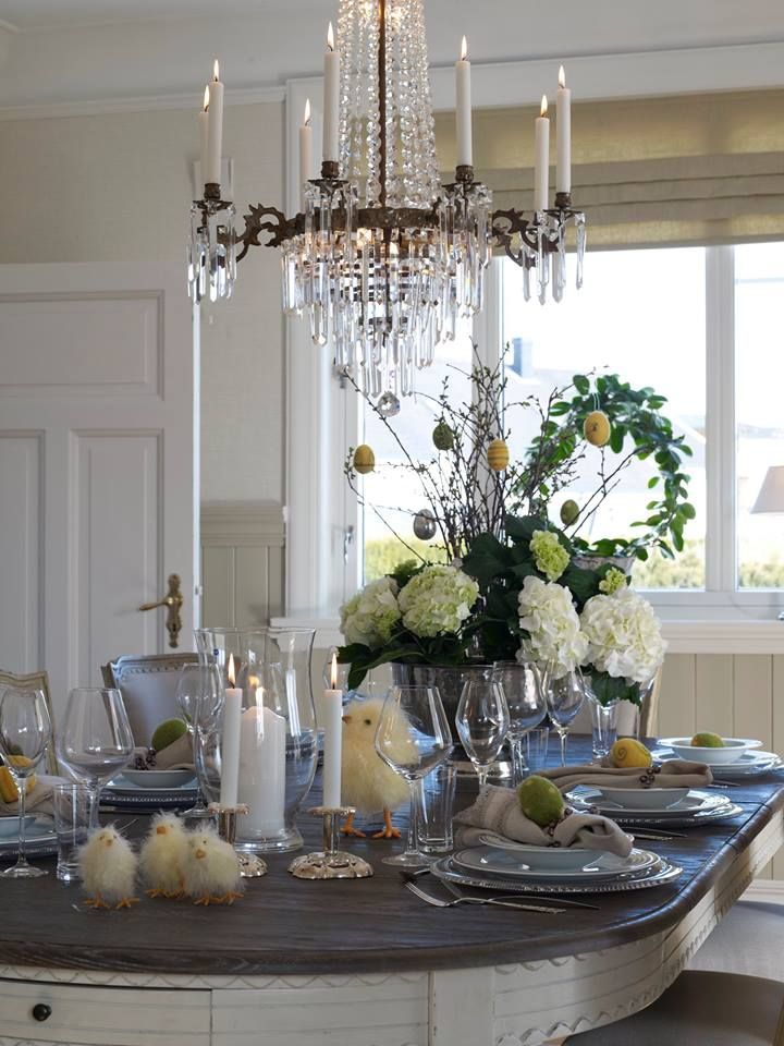 Happy Easter- crystal and brass chandelier www.kobrointeriors.com